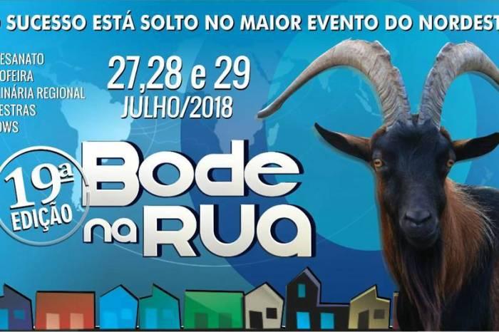 Bode na Rua 2018 é lançado neste sábado; Confira agora quais são as atrações