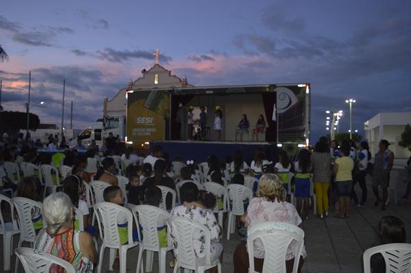 1ª Semana de incentivo a leitura e cultura termina com apresentações em Gurjão