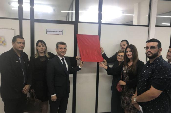 Ordem dos Advogados do Brasil inaugura Sala da Advocacia no Fórum de Sumé