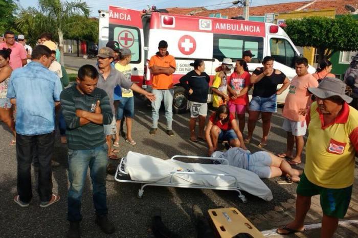 EXCLUSIVO: Acidente envolvendo caminhão deixa várias pessoas feridas no Cariri