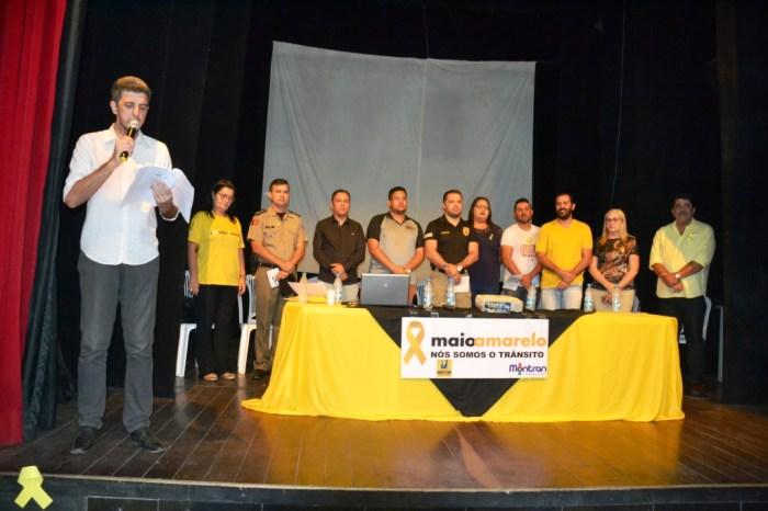 Autarquia de Trânsito de Monteiro e UEPB abrem campanha Maio Amarelo
