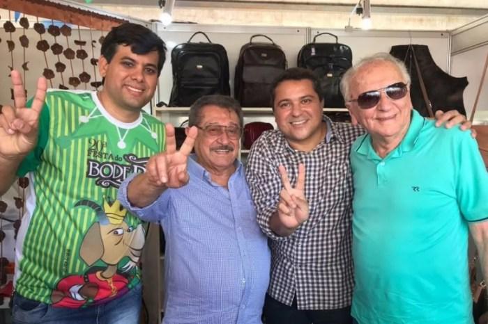 No Cariri, Maranhão é recepcionado por prefeito do PSB na XX Festa do Bode Rei