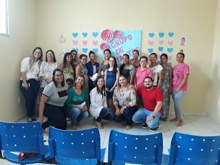 Grupo de gestantes recebe auxílio da nutricionista no município de Prata