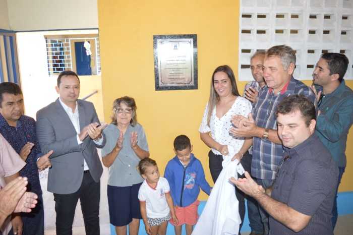 Éden entrega reforma e ampliação de escola rural na comunidade Poço da Pedra