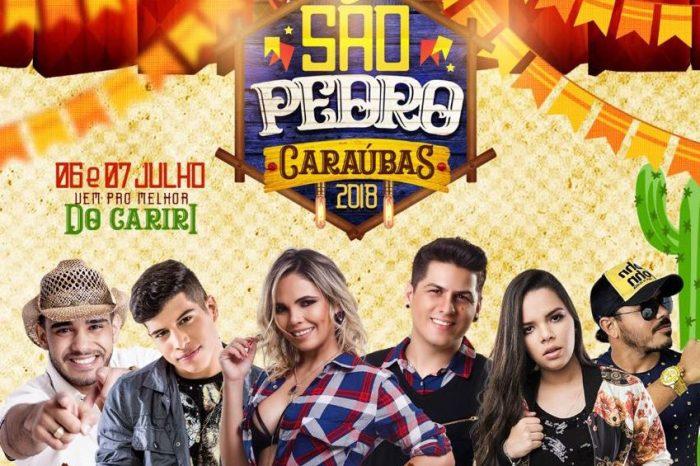 Abertura da tradicional festa de São Pedro na cidade de Caraúbas acontece nesta sexta
