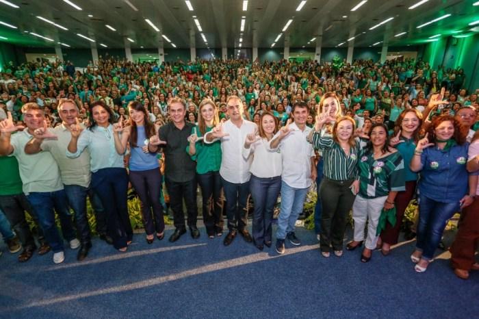 Lucélio e Micheline participam do Encontro do PV Mulheres da Esperança