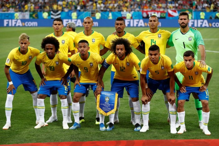 Estudo aponta Brasil favorito contra o México