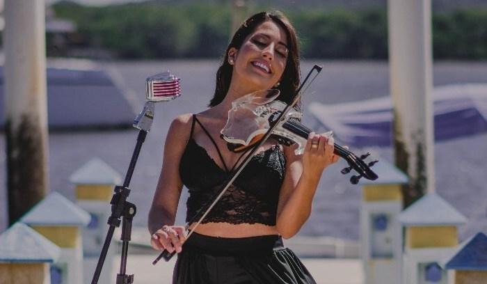 Violinista paraibana é atração da Festa do Retiro dos Artistas no RJ