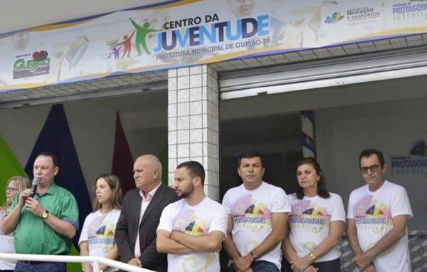 Prefeitura de Gurjão inaugura espaço de lazer, esporte e cultura para os jovens