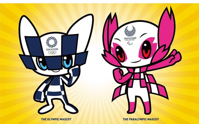 Divulgados os nomes dos mascotes das Olimpíadas de 2020