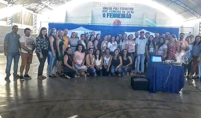 São Domingos do Cariri realiza palestra para implementação da Base Nacional Comum Curricular