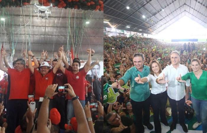Convenções homologam Maranhão e Lucélio candidatos ao Governo
