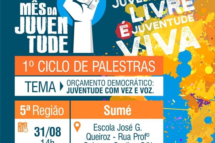 Sumé recebe ações do Mês da Juventude com vasta programação no município