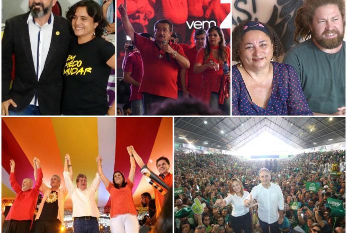 Paraíba terá cinco candidatos ao governo e sete ao senado