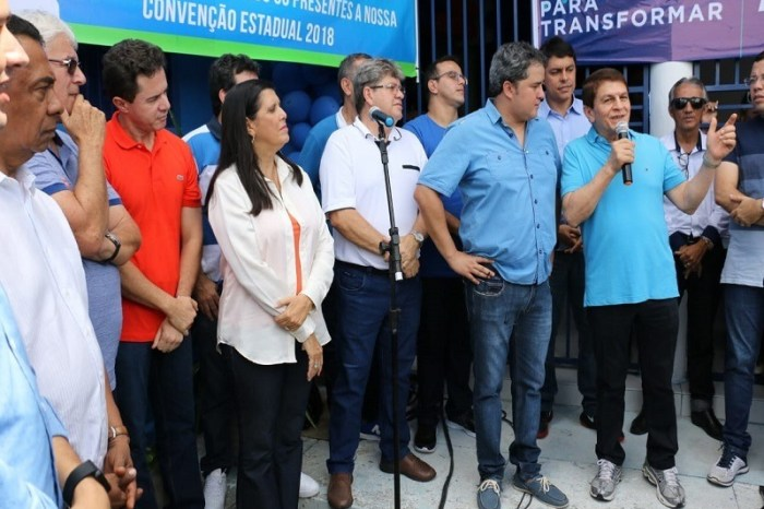 Convenções de DEM, PDT, PTB e PRB oficializam apoio à chapa de João