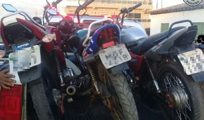 Polícia apreende motos por direção perigosa e adulteração de placa no Cariri