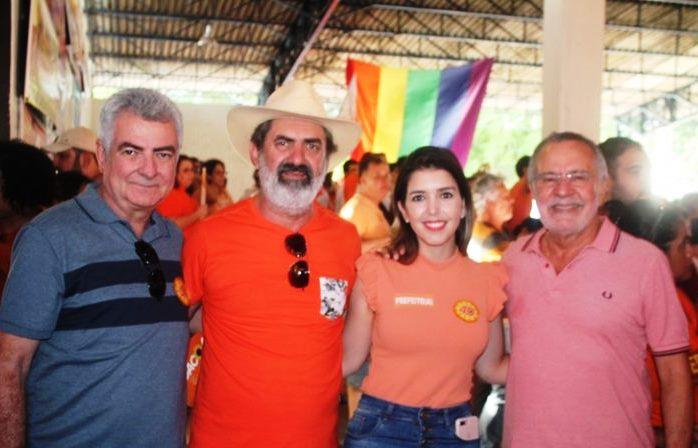 Lideranças do Cariri prestigiam convenção do PSB em João Pessoa