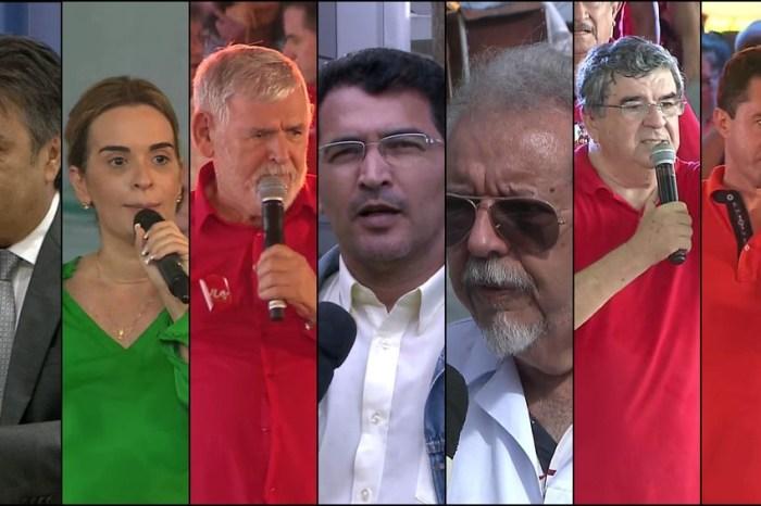 Senado: Cássio lidera para o primeiro voto e Veneziano para o 2º