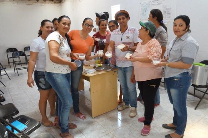 Prefeitura do Cariri realiza curso de produção de requeijão de Leite de Cabra