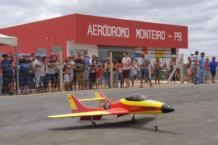 Monteiro realiza o maior encontro de Aeromodelismo da Paraíba