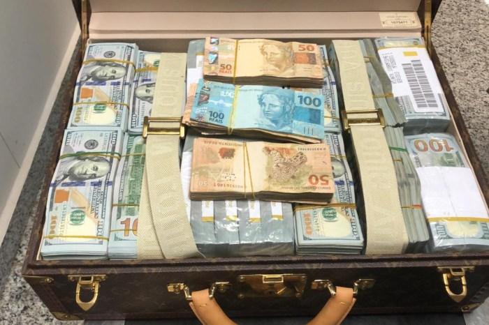 Pertences de luxo são apreendidas com filho de ditador africano em SP