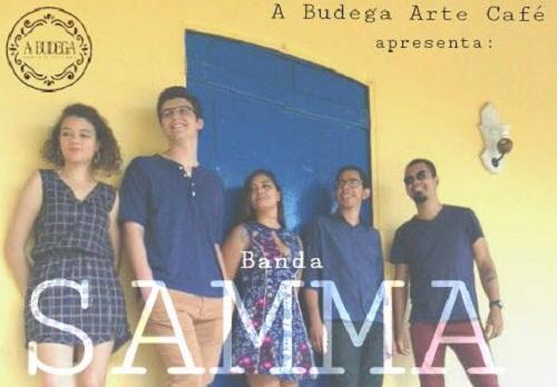 Banda Samma faz show e se prepara para lançar seu primeiro EP