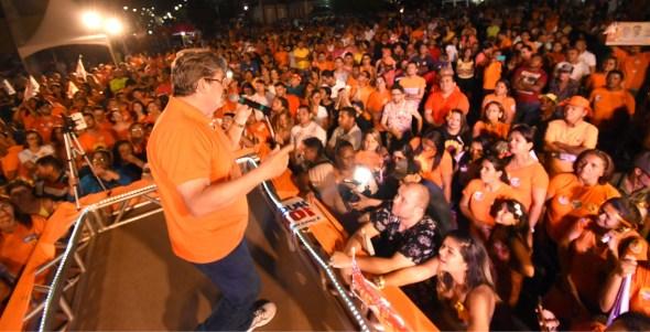 João Azevedo teve mais de 58% dos votos válidos sendo eleito no primeiro turno