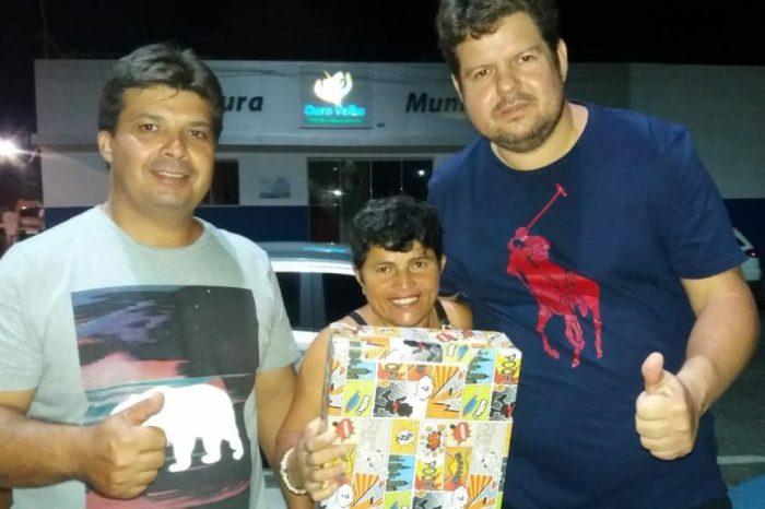 Prefeitura de Ouro Velho promove festa para as crianças do município