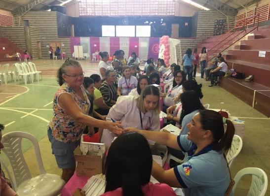 Secretaria de Saúde de Sumé realiza Dia D da Campanha Outubro Rosa