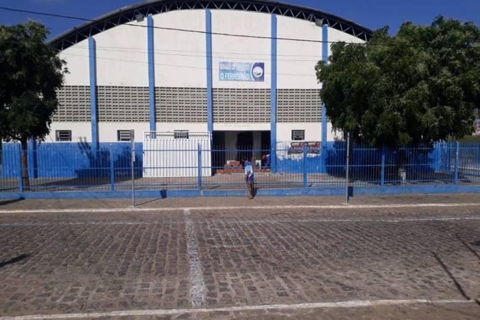 Prefeitura de São Domingos do Cariri inicia reforma no Ginásio de Esportes 'O Ferreirão'