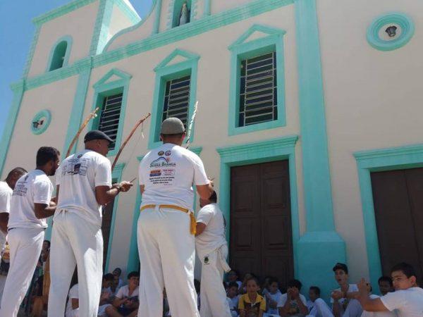 São José dos Cordeiros sedia V Encontro de Capoeira e reúne atletas da Paraíba