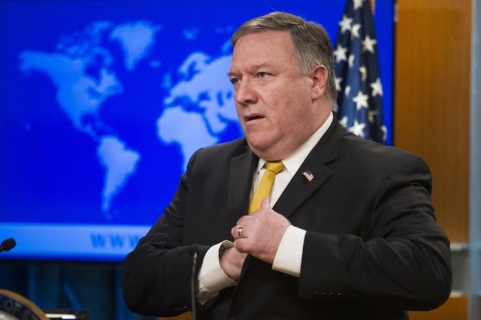 Secretário de Estado dos EUA conversa com Bolsoaro sobre Venezuela