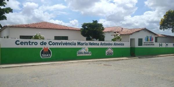 Serra Branca tem Centro de Convivência Maria Helena Antonino Almeida inaugurada