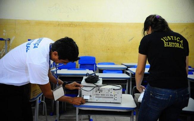 Número de urnas eletrônicas substituídas chega a 1.695
