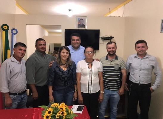 Vereadora Marta é eleita presidente da Câmara Municipal de Ouro Velho