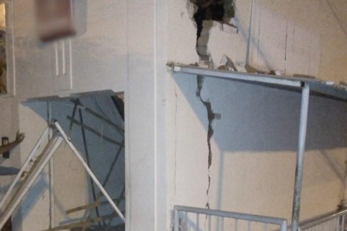 Grupo explode agência bancária no Cariri e parte da estrutura desaba
