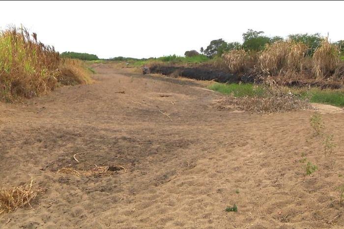 Na Paraíba, em muitas cidades água da transposição virou areia