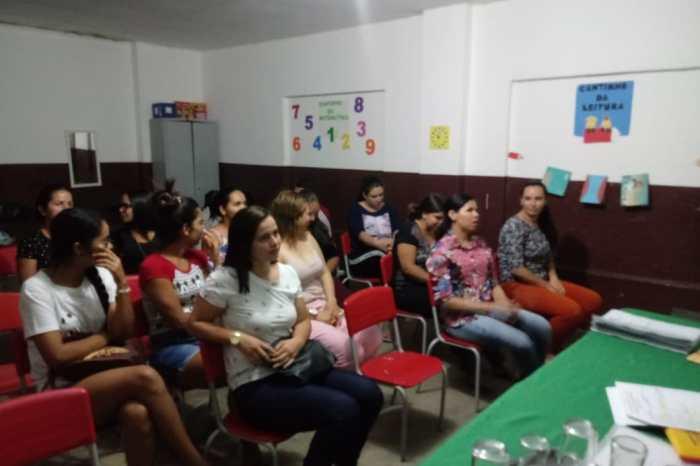 Comunidade rural recebe curso de qualificação pela Secretaria de Desenvolvimento Social de Monteiro