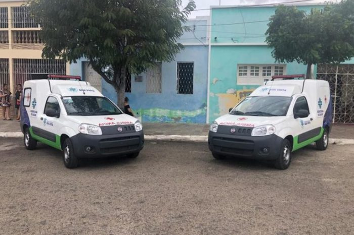 População de Boa Vista conta com mais duas ambulâncias melhorando qualidade de atendimento