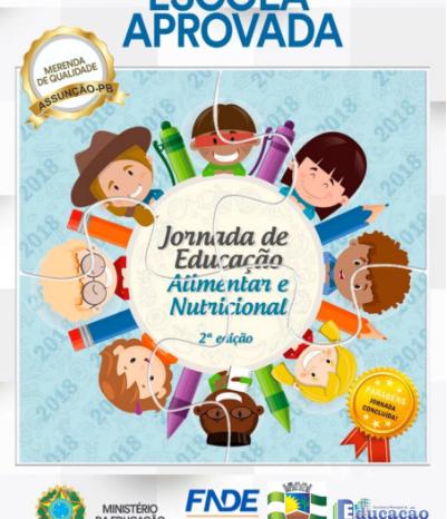 Escola de Assunção conquista Selo da Jornada de Educação Alimentar Saudável