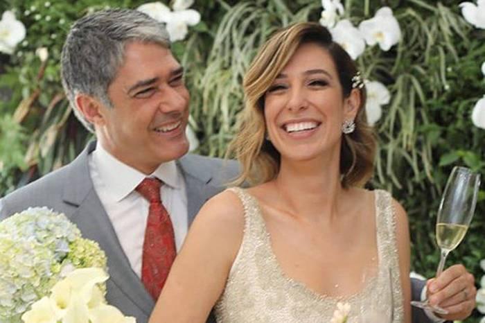 William Bonner e Natasha Dantas realizam segundo casamento