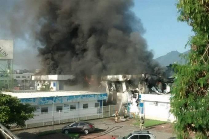 Três pacientes morrem durante incêndio de hospital no RJ