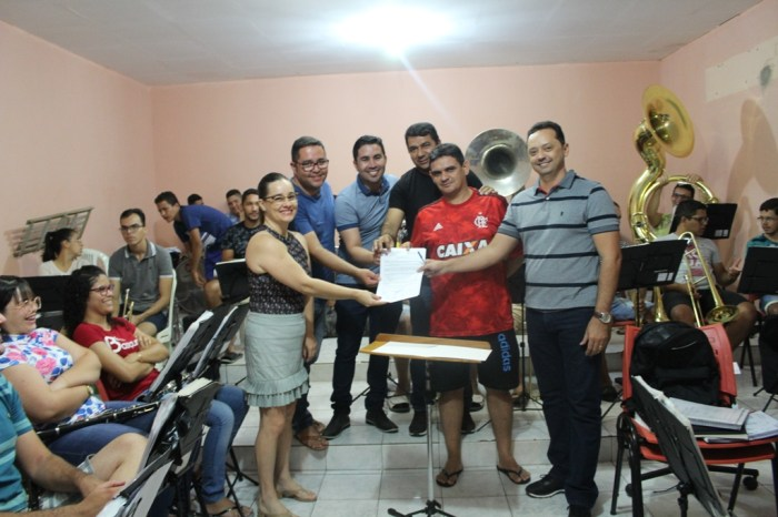Prefeito de Sumé anuncia novos investimentos para a Filarmônica Municipal