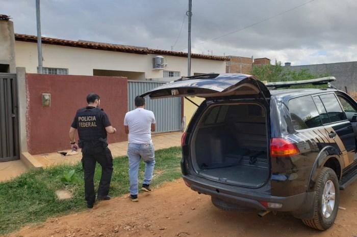 PF cumpre 6 mandados de prisão na 2ª fase da operação Recidiva