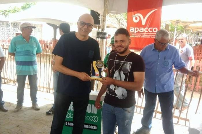 Premiação da 1ª Feira de Caprinovinocultura de Monteiro é entregue