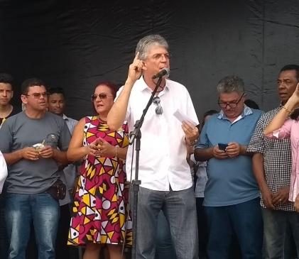 Travessia Urbana da cidade de Taperoá, na região do Cariri, é inaugurada neste sábado