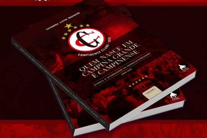 Professora fala sobre livro que conta a história do Campinense