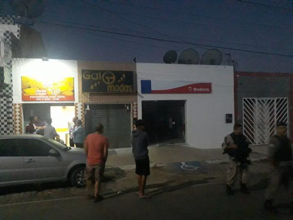 Grupo armado explode agência bancária no Cariri paraibano