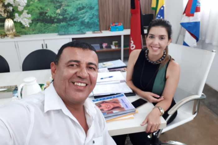 MOÍDOS DA REDAÇÃO: Prefeita Anna Lorena recebe apoio de liderança do PSB