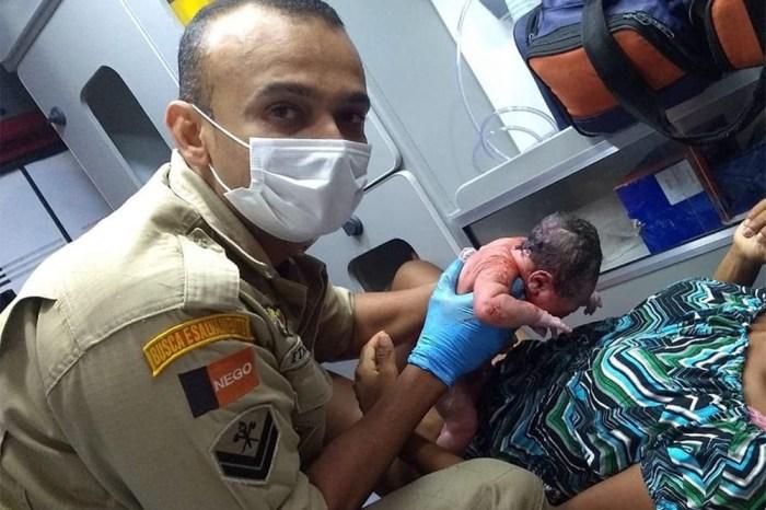 Bombeiros realiza dois partos em menos de 72 horas, em Campina